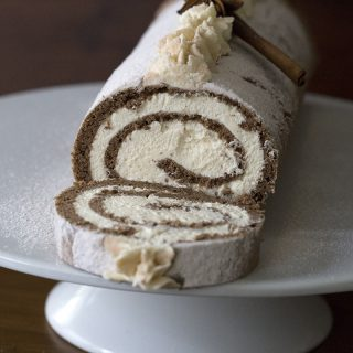 This gorgeous Keto Cake Roll is perfect for your holiday celebrations.