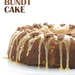 Low Carb Pecan Pie Bundt Cake. Perfect for a healthy Thanksgiving! LCHF Keto Banting THM