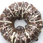 Low Carb Chocolate Peppermint Cake. LCHF Keto THM Banting recipe.
