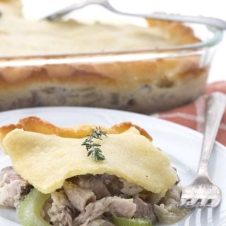 Smoked Turkey Pot Pie