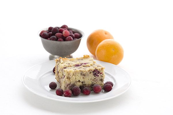 Low Carb Slow Cooker Cranberry Orange Bread