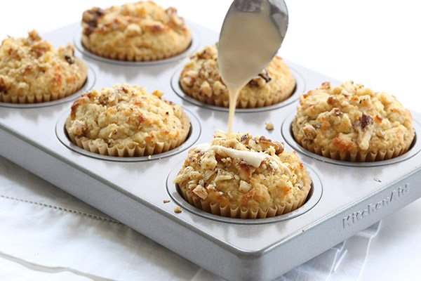 Low Carb Maple Walnut Muffins