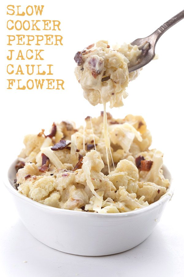 Low Carb Keto Pepper Jack Cauliflower Recipe