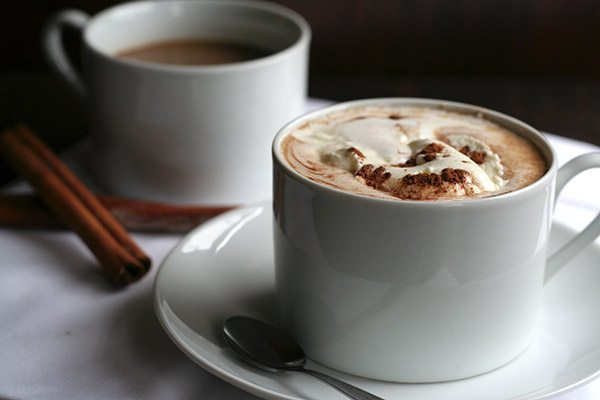Low Carb Peppermint Hot Chocolate