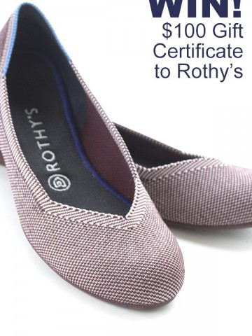 Get $100 Gift Certificate to Rothy's!