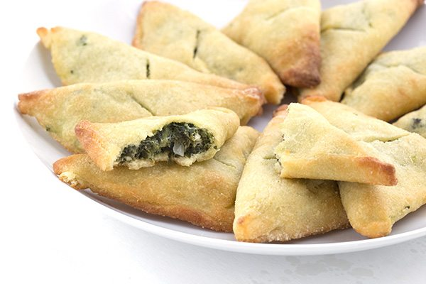 Use fat heat low carb dough for a fabulous low carb Spanakopita.
