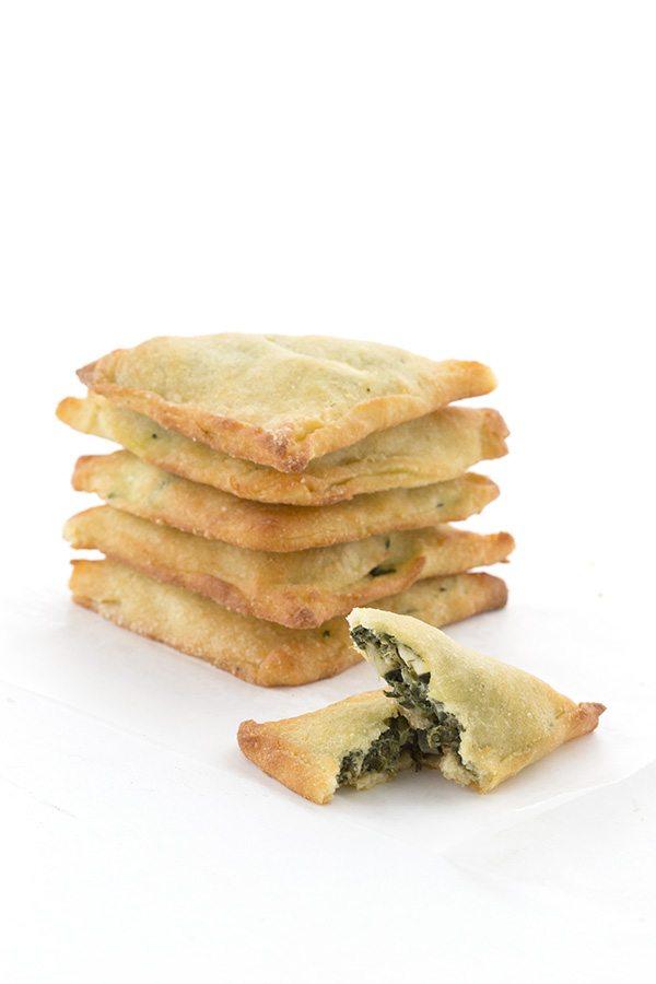 Low Carb Keto Spanakopita Hand Pies.