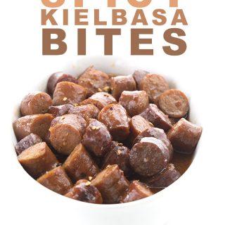 Sweet & Spicy Kielbasa Bites