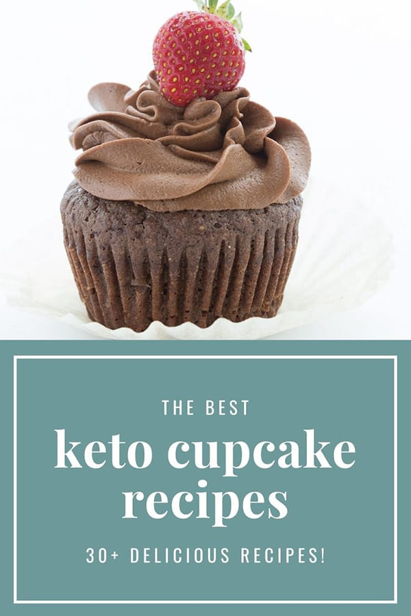 The best keto cupcake recipes: titled image