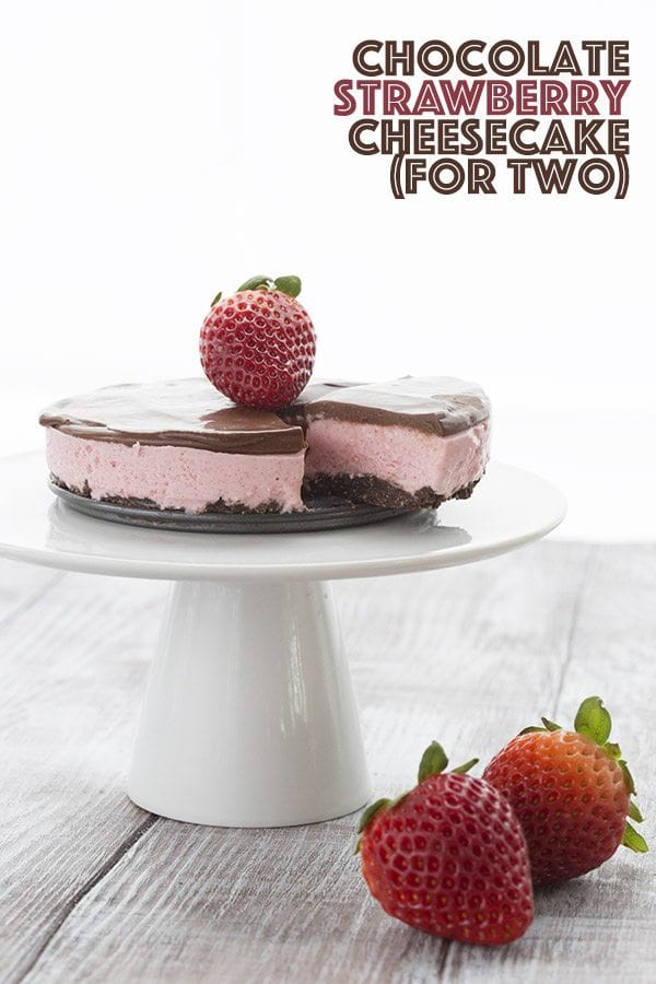 Low Carb Mini Chocolate Strawberry Cheesecake