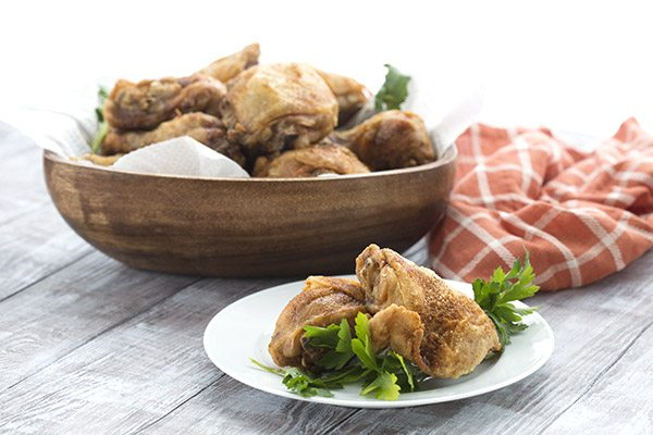 You will love this perfect keto fried chicken recipe. No breading necessary!