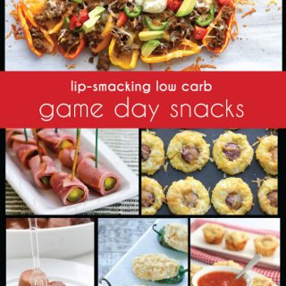 The Best Low Carb Game Day Recipes