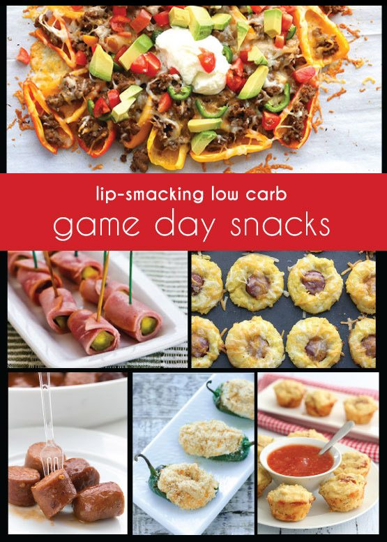 All the best low carb and keto football food, right here! 40 mouthwatering appetizers that won't weigh you down.