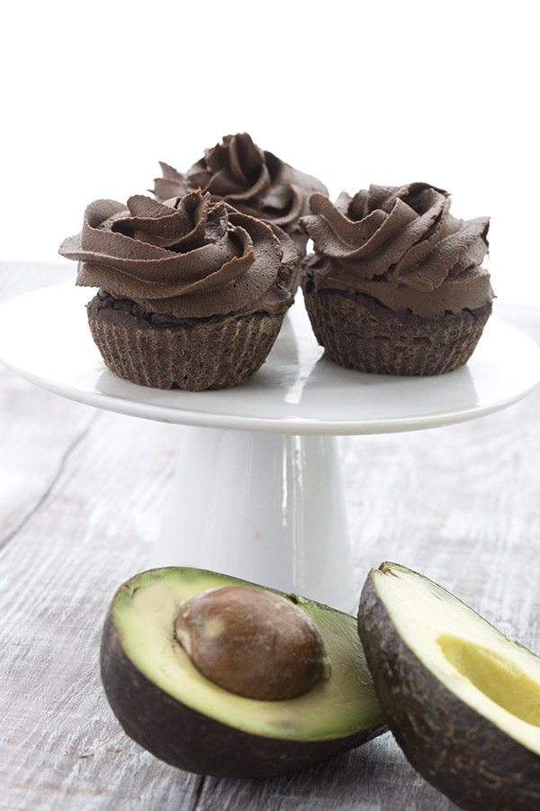 Rich and chocolatey avocado buttercream recipe. Sugar-free and keto
