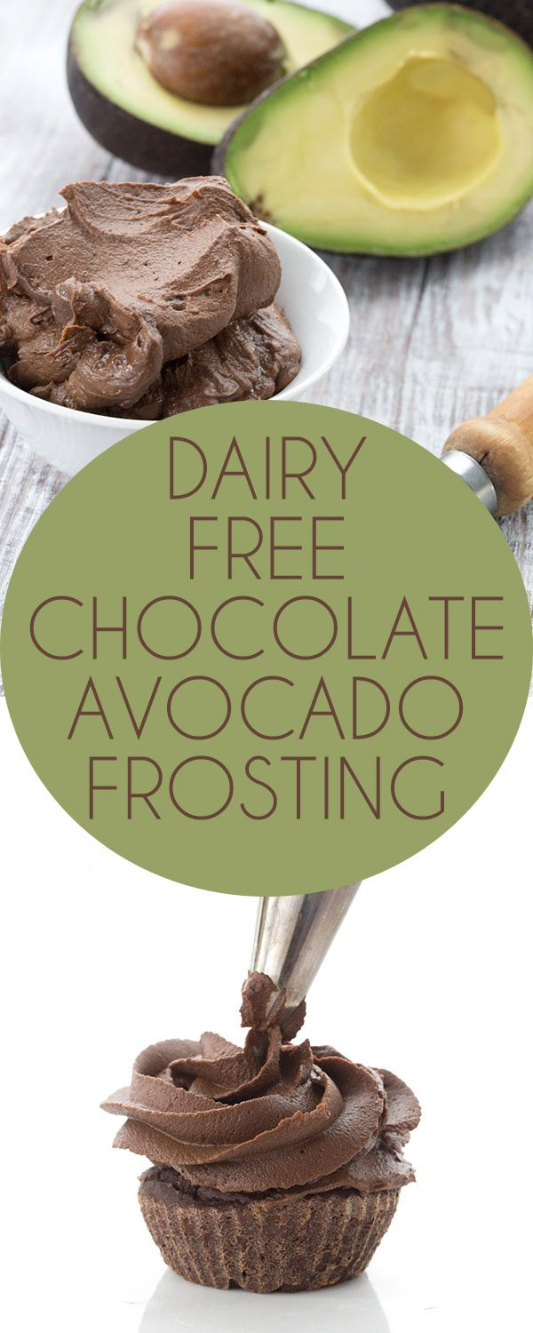 Dairy-Free Chocolate Avocado Buttercream | All Day I Dream About Food