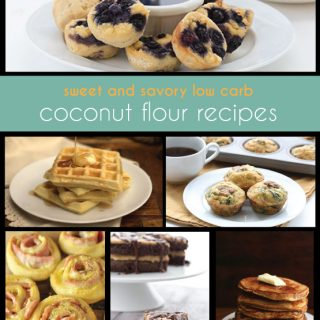 Low Carb Coconut Flour Recipes