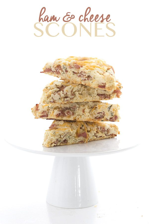 Easy and delicious low carb Ham and Cheese Scones