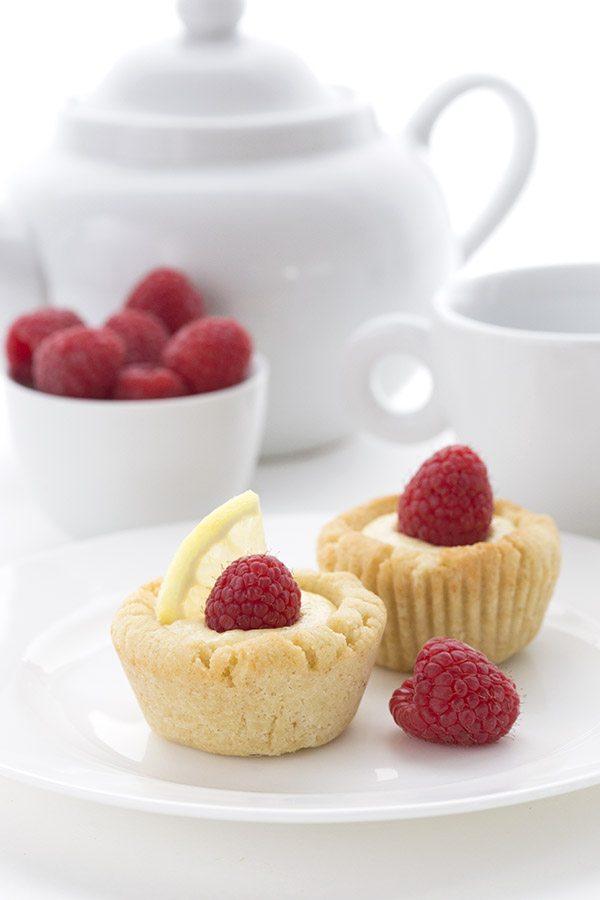 Low Carb Lemon Sugar Cookie Cups