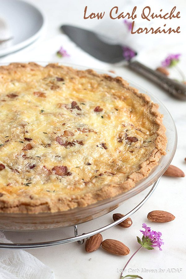 Low Carb Keto Quiche Lorraine Recipe