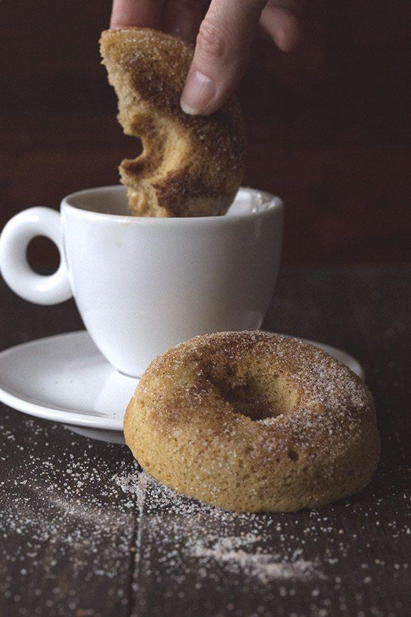 Grain-Free Chai Spice Donuts. LCHF Keto Banting THM recipe