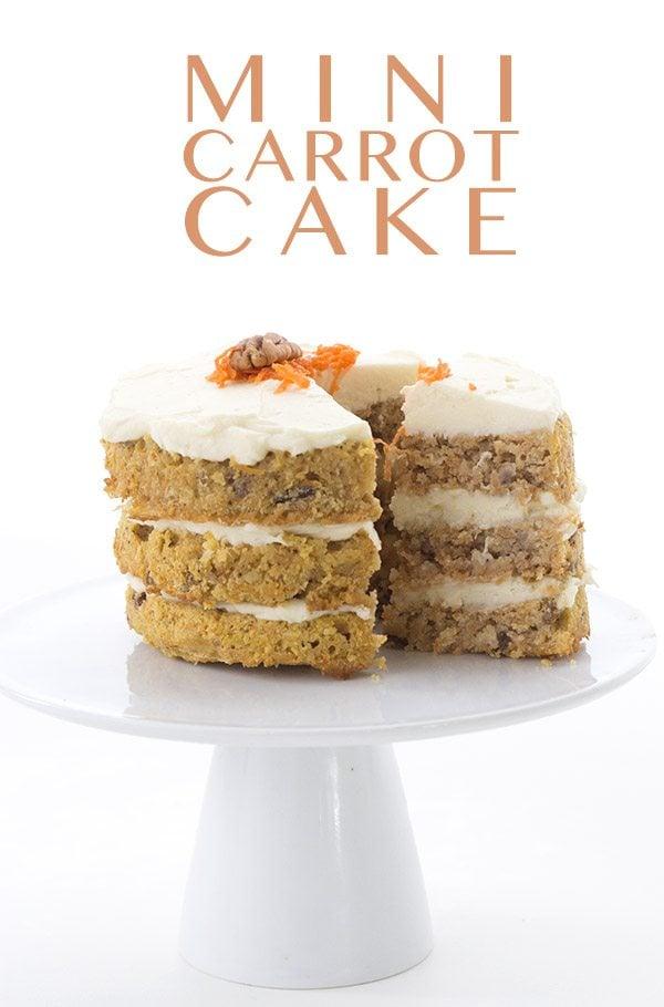 Low Carb Grain-Free Mini Carrot Cake Recipe