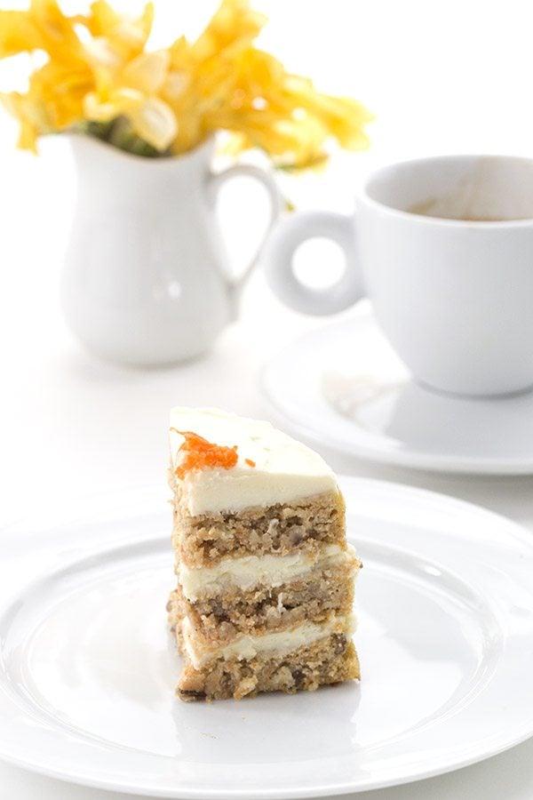 Delicious keto Carrot Cake Recipe