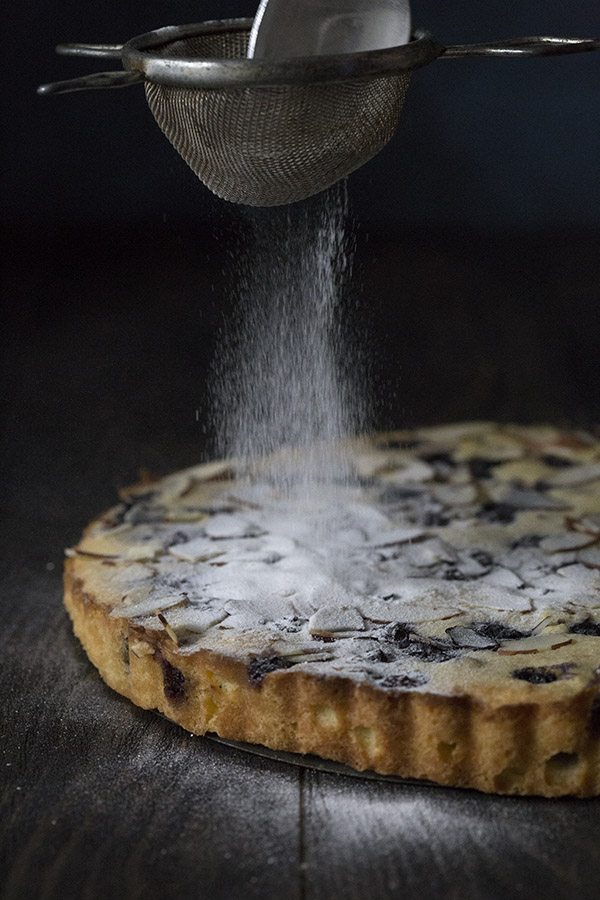 Keto Low Carb Blueberry Tart Recipe