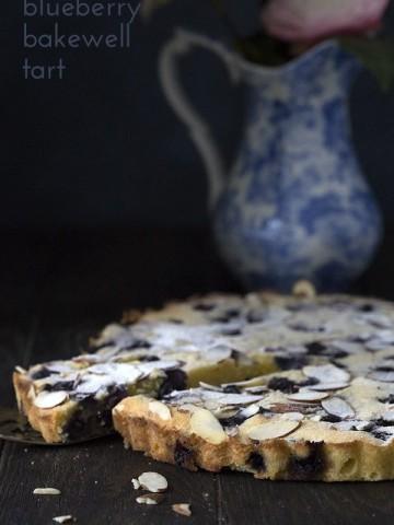 Low Carb Blueberry Almond Tart Recipe