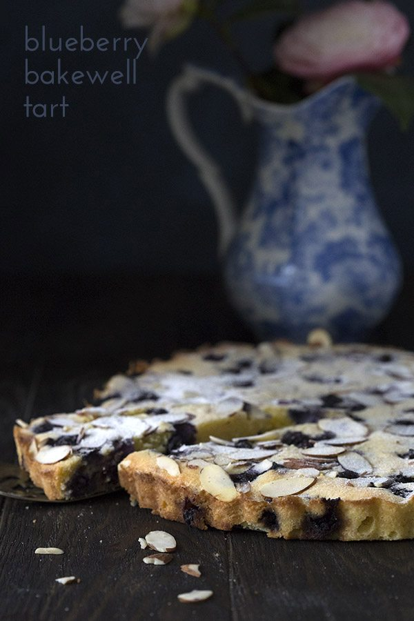 Low Carb Blueberry Almond Tart Recipe