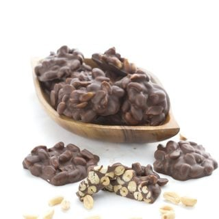 Easy Low Carb Peanut Clusters