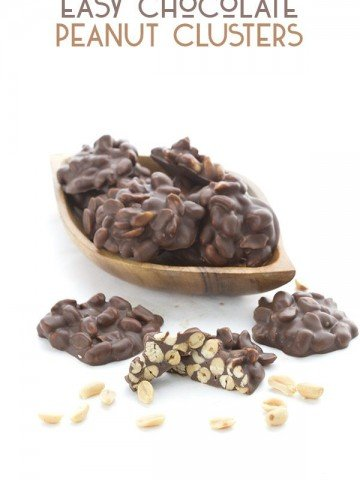 Easy Low Carb Chocolate Peanut Clusters