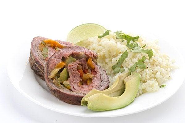 Best low carb stuffed flank steak. Keto recipe