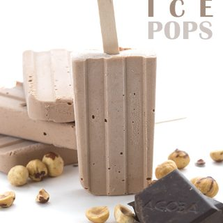 Low Carb Keto Nutella Popsicles