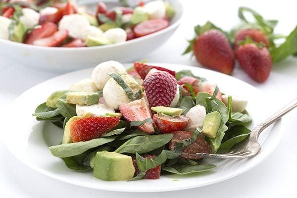 Easy low carb caprese salad recipe