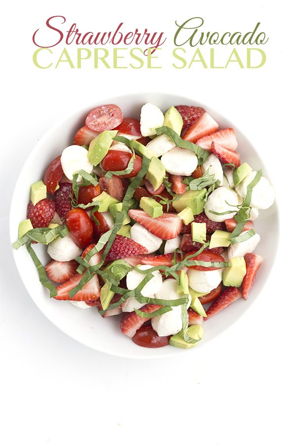 A delicious low carb keto summer salad, a great way to use fresh produce!