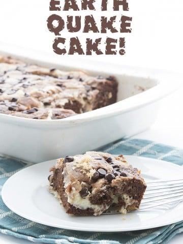 Low Carb Keto Earthquake Cake