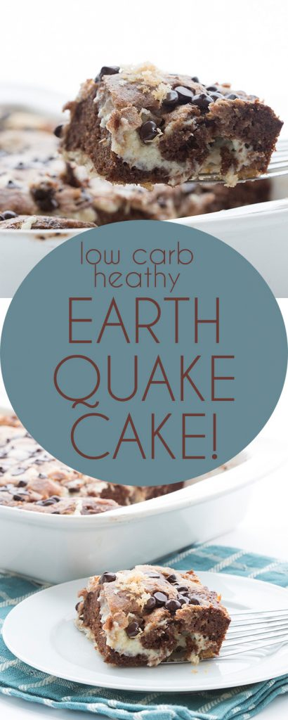 Your new favorite low carb chocolate cake recipe!