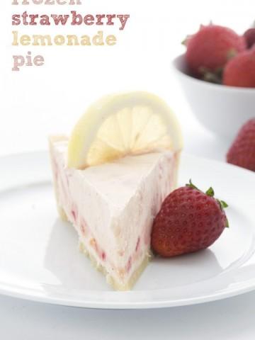 Low Carb Strawberry Lemonade Pie Recipe