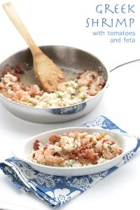 Easy Low Carb Greek Shrimp Recipe