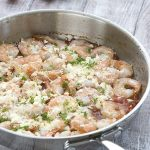 Easy Greek Shrimp Recipe. Low carb keto dinner.