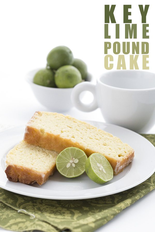 Low Carb Key Lime Pound Cake Recipe