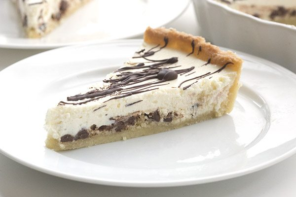 Best low carb keto cannoli tart recipe.