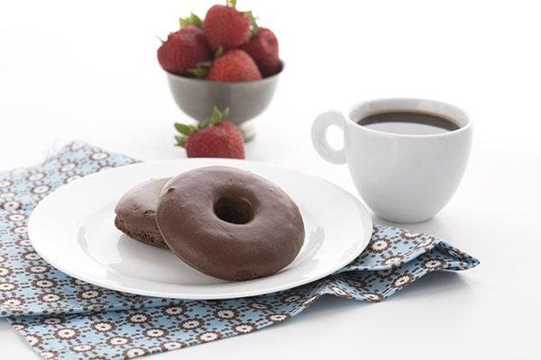 KETO CHOCOLATE CAKE DONUTS