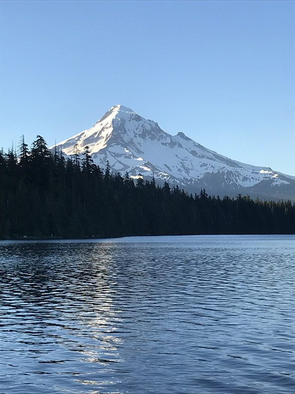 Mt Hood at Lost Lake