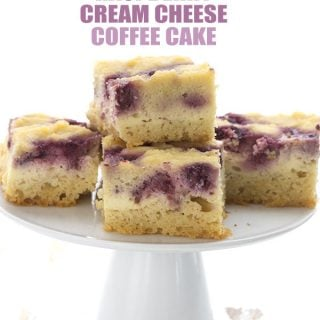 Slow Cooker Raspberry Cream Cheese Coffee Cake