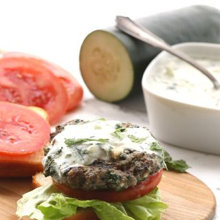 Spinach & Feta Lamb Sliders