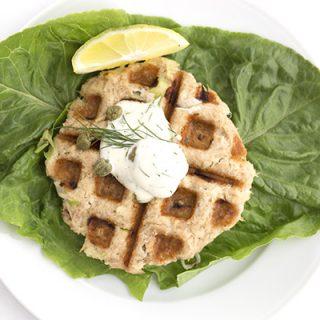 Waffled Tuna Cakes - paleo, low carb, keto recipe.