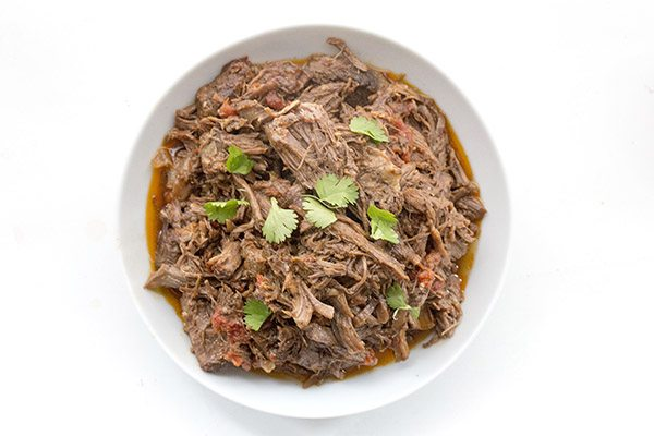 So easy, this low carb Mexican Shredded Beef is bound to be a family hit!