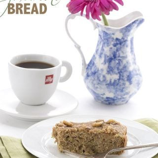 Easy low carb Zucchini Bread recipe made in your slow cooker