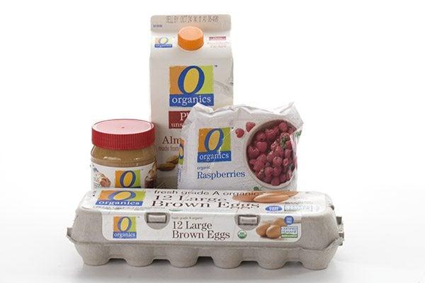 healthy O Organics products